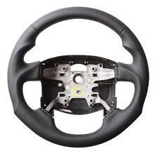 LAND ROVER / RANGE ROVER STEERING WHEEL, ERGONOMIC INLAYS, NEW LEATHER