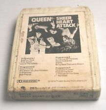 ⭐️ 8-track / 8 track tape cassette QUEEN - SHEER HEART ATTACK  1974