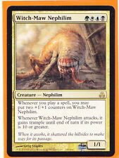 MTG  1 x WITCH-MAW NEPHILIM  Guildpact  Rare Gold Card Creature  Never played