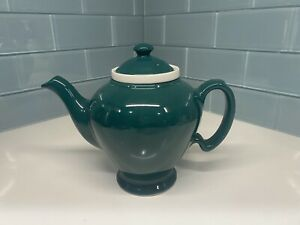 Hall McCormick Teapot with Lid and Infuser Baltimore Md Dark Green