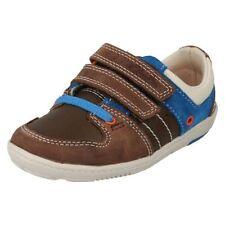 Chaussures marrons en cuir pour garçon de 2 à 16 ans Pointure 23