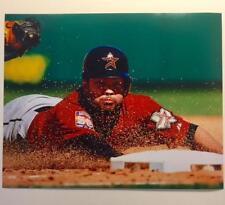 JOSE ALTUVE Houston Astros Head-first Slide 8x10 Photo Matte Baseball Photograph
