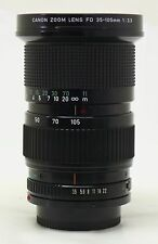 Canon 35-105mm f/3.5 FD manual focus lens EXC++