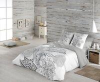 Naturals Funda nórdica cama Carola + funda almohada 100% algodón /Duvet cover