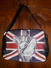 sac bandoulière reporter messager fashion LONDRES MARILYN squelette  - neuf