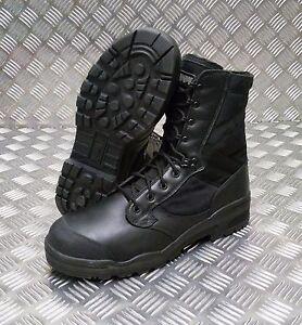 Genuine British Army Issue Magnum Black STEEL Toe Cap Boots