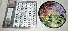 Risk 2210 A.D. Games Parts TWO Charts Army Status Report Moon