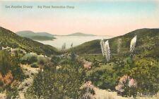 1920s San Gabriel California Big Pines Recreational Camp Quigley Albertype 7829