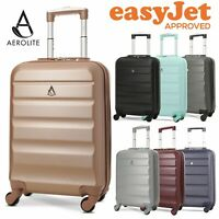 Aerolite easyJet 55x35x20cm Suitcase Hard Shell Carry On Cabin Bag Hand Luggage