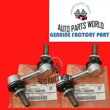GENUINE SUBARU OUTBACK TRIBECA OUTBACK FRONT LEFT & RIGHT SWAY BAR LINK SET OF 2