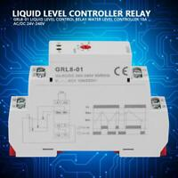 GRL8-01 Liquid Level Control Relay Water Level Controller 10A AC/DC 24V-240V
