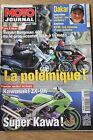MOTO JOURNAL N°1359 KAWASAKI 900 ZX-9R HONDA VTR 1000 SLR 650 PARIS DAKAR 1999