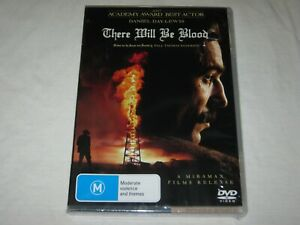 There Will Be Blood - Daniel Day-Lewis - Brand New & Sealed - Region 4 - DVD