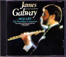 James Galway: Mozart Flute Concerto 1, 2 ANDRE Prieur 1986 PIM CD flautí concerti
