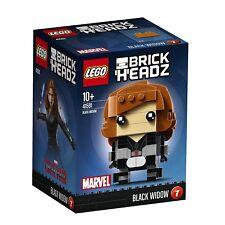 BRAND NEW LEGO BRICKHEADZ #7 BLACK WIDOW 41591 SEALED