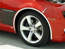 "Wheel Well Molding Kit Chrome 1"" Vinyl 4PC 2010-2013 Chevy Camaro ACC PN 102028"
