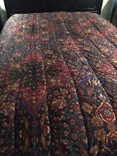 RALPH LAUREN Brentford Comforter Set Shams Bedskirt Queen 4pcs