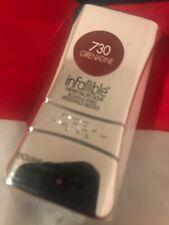 L'OREAL INFALLIBLE LIPCOLOR LIPSTICK 730 GRENADINE Deep Red Balm Long Lasting