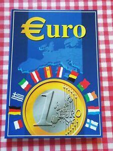 Classeur - Présentoir  Pièces Début de L' Euro