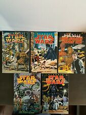 Classic Star Wars Vol 1 2 3 4 5 HAN SOLO AT STARS END LOT OOP Dark Horse TPB