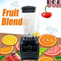 2200W 2L Blender Mixer Juicer Food Processor Ice Fruit Bar Commercial Grade USA
