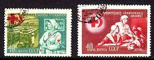 Russia - 1956 Red Cross - Mi. 1831-32 FU