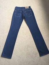 Womens Levis 10528 Stretch Straight Jeans W26 L34 BNWOT (285)