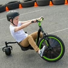 Huffy Green Machine Drift Trike Kids Children Boys Ride On Bike Tricycle Outdoor