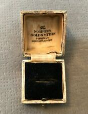 Antique / Vintage The Northern Goldsmiths Company Empty Ring Box