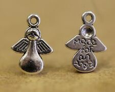 'Made for an Angel' Silver Plated Metal Charms pack 20 TB01