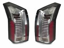 DEPO NO ERROR 03-07 CADILLAC CTS CTS-V CLEAR CHROME LIGHT BAR LED TAIL LIGHTS