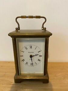 Vintage Bayard 8-Day Carriage Clock France - Good Working Order