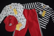 NWT Baby Boys Gymboree Pirate Island 12-18 24 M Months 4 Pc Red Shirt Pants Hat