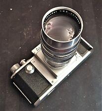 VINTAGE ASAHI KOGAKU 1:3.5 f = 135mm TELE TAKUMAR FOR M37 ASAHIFLEX - NICE
