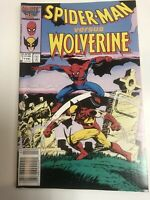 Spider-Man Vs wolverine (1986) # 1 (VF/NM) Great Read !!!