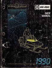 1990 SKI-DOO SHOP SERVICE MANUAL MACH 1, FORMULA PLUS, ELAN & MORE (613)