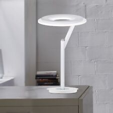 WOFI LED éclairage de table Clarc BLANC CHROME intensité variable DESIGN BUREAU