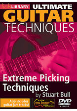 Lick Library EXTREME GUITAR PICKING TECHNIQUES Video Lesson DVD With Stuart Bull