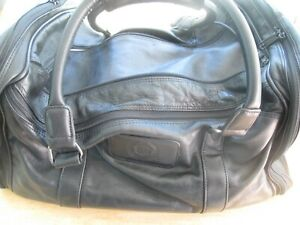 CADILLAC AUTO American Tourister Black Carry On Duffel Hand Bag Luggage
