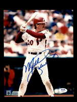 Mike Schmidt PSA DNA Hand Signed 8x10 Photo Phillies Autograph
