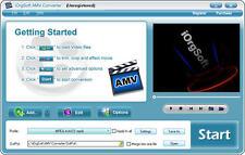 iOrgsoft AMV Video Converter, (AVI MP4 VOB MOV 3GP..etc.) to AMV & vice versa