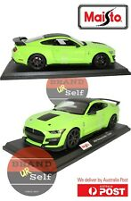 Maisto 2020 Ford Mustang Shelby GT500 Green 1:18 Diecast Model Car
