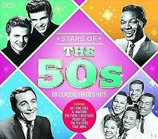 Stars of The 50s 60 Classic Fifties Hits Various Audio CD
