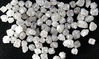 Natural Loose Diamonds Rough Cubic Shape Fancy Silver White Color 40 Pcs Lot Q99