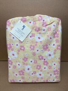 Pottery Barn Kids Hibiscus Floral Full Sheet Set Summer NIP