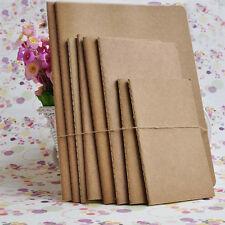 Papier Kraft cahier livre blanc cahier carnets Vintage Journal hq