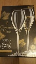 Cristal d'Arques France Grand Champagne  Glasses 25cl New In VGC