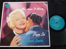 PEGGY LEE The Man I Love LP Orchestra Conducted By Frank Sinatra