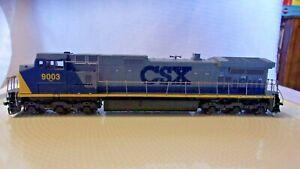 HO Scale Athearn Diesel Locomotive CSX Transportation, Gray, #9003