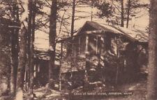 Jefferson, Maine, 1930s; Cabin At Sunset Lodge
